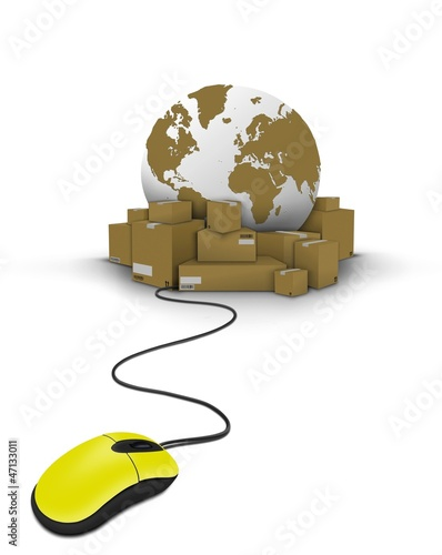 Mouse click on delivery