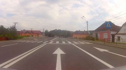 Fast speed drive time-lapse - Romania July 25
