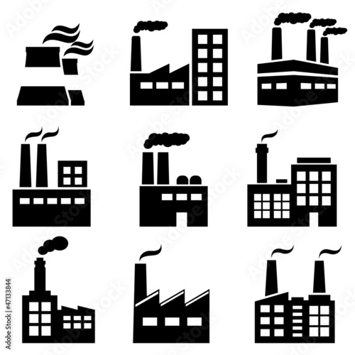 Industrial building, factory and power plants - 47133844