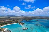 Fototapety Aerial view of Mauritius