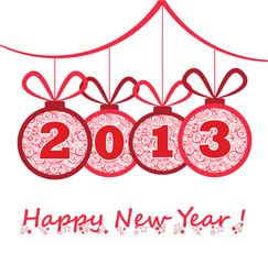 New Year 2013 Balls
