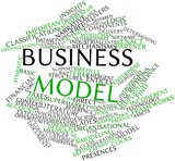 Word cloud for Business model