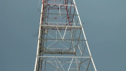 Pan Up Communications Tower