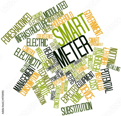 Word cloud for Smart meter