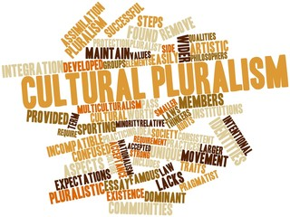 Word cloud for Cultural pluralism
