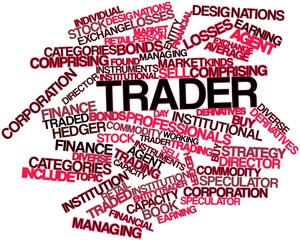 Word cloud for Trader