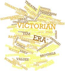 Word cloud for Victorian era