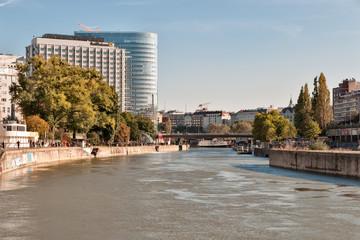 Donaukanal in Wien
