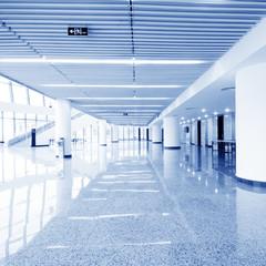 modern hall inside office center
