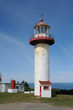 Quebec, the lighthouse of Sainte Madeleine de la Riviere Madelei