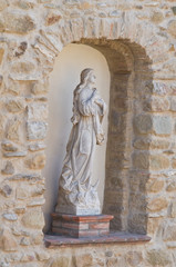 Mother church. Valsinni. Basilicata. Italy.