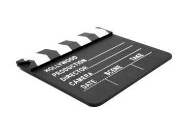 Film slate lying