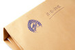 "paper envelope stamped ""Top Secret"",concept on classified materi"