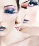 Fototapeta estetyczny - kosmetyczka - Makijaż