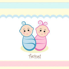 Baby Boy Girl Twins