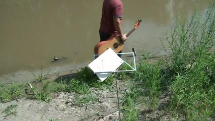 Songwriting Inspiration Along Riverbank