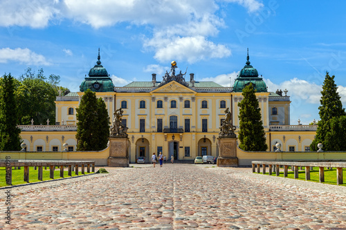Branicki Palace is a historical edifice in Bialystok, Poland. - 47145098