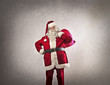 Standing Santa Claus