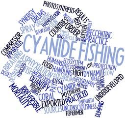 Word cloud for Cyanide fishing