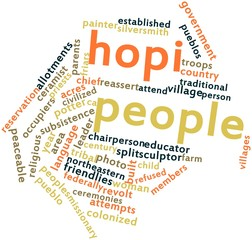 Word cloud for Hopi people