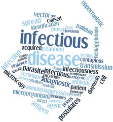 Word cloud for Infectious disease