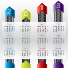 Technology calendar for 2013