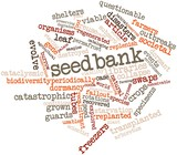 Word cloud for Seedbank