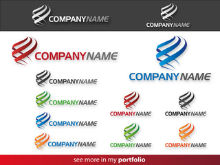Company Logo Flame Design,Vector