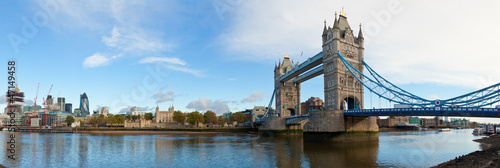 canvas print picture London Tower panorama