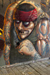 Fototapete Grunge - Stadt - Graffiti