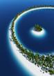 Einsame Insel Konzept - Rundbogen 5