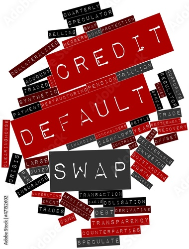 Word cloud for Credit default swap