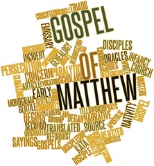 Word cloud for Gospel of Matthew