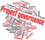 Word cloud for Project governance