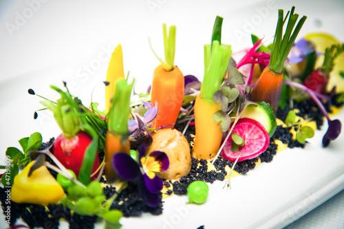 Fotobehang Restaurant Gastronomie