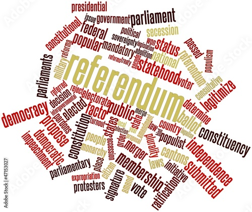 Word cloud for Referendum