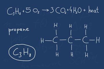 Chemistry lesson - propane