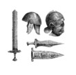 Ancient Rome : Weapons & Helms - Antiquity