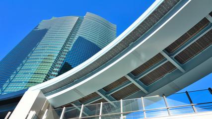 Futuristische Architektur in Tokyo