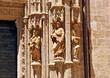 Catedral de Sevilla, profetas en la puerta de Campanillas
