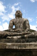 Buddhafigur in Polonnaruwa - Sri Lanka