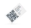 QR-Code business card concept