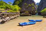 Kayak trip to the island on Phang Nga Bay, Thailand