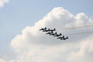 eight planes