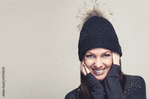 Symathisches Lächeln
