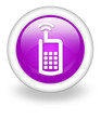 "Violet Icon ""Cell Phone"""