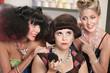 Ladies Watch Annoyed Female in Salon