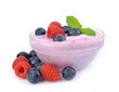 Yogurt  with berry