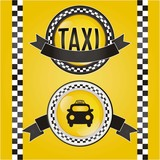 Fototapety Taxi Icons
