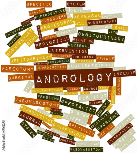 Word cloud for Andrology